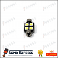 36mm CANBUS ERROR FREE SMD LED FESTOON BULB C10W C5W – WHITE