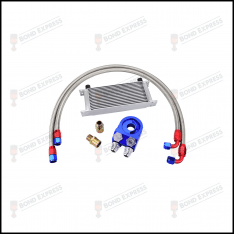 AN10 Universal Oil Cooler Kit | 19 Row