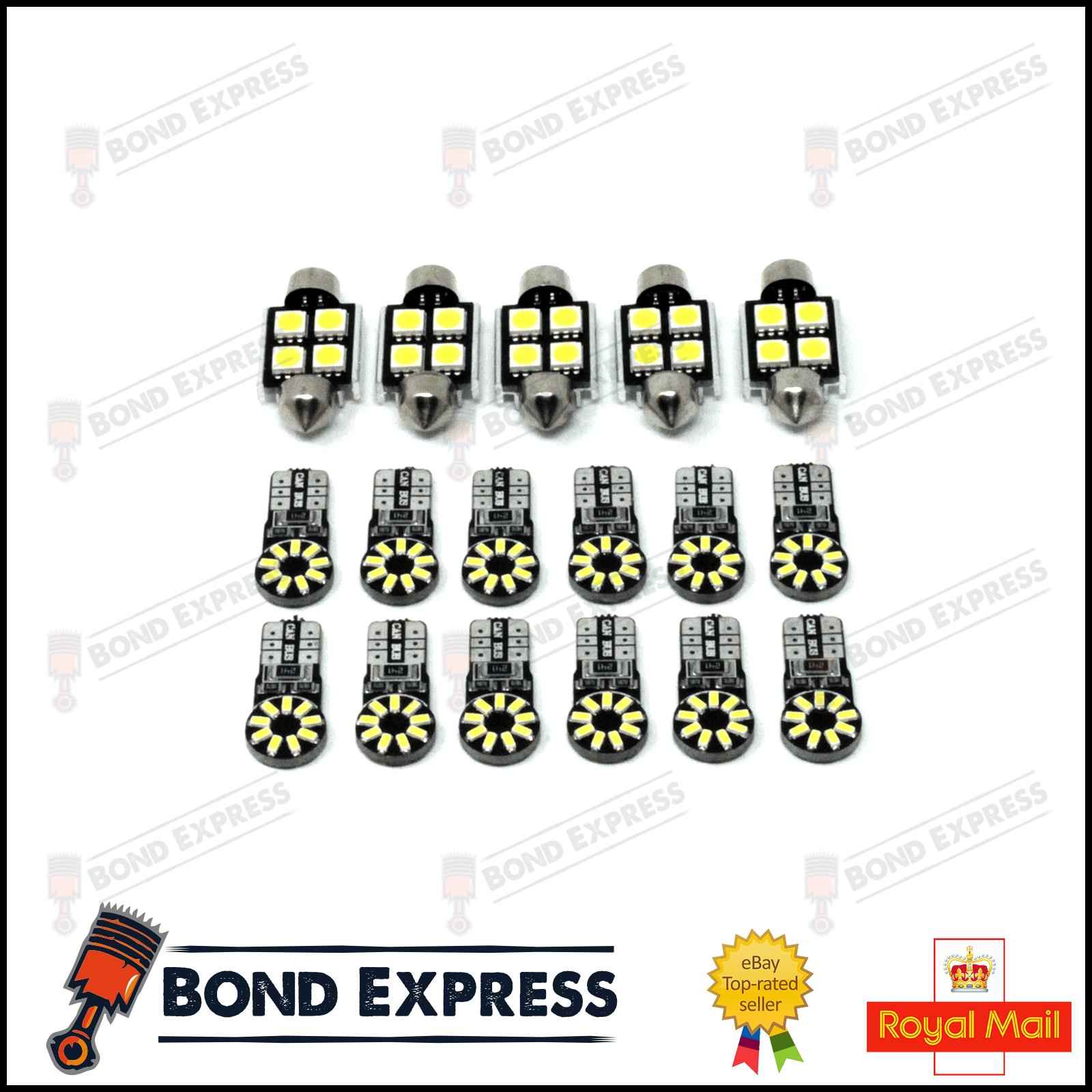 Bmw 5 Series E61 Interior Led Kit Bond Express Ebay E60 Sunflower 1