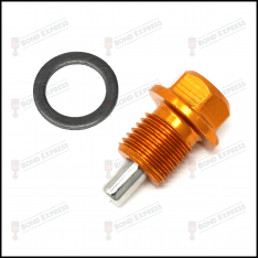 GOLD – MAGNETIC OIL DRAIN SUMP PLUG HONDA CIVIC S2000 CRX INTEGRA TYPE R