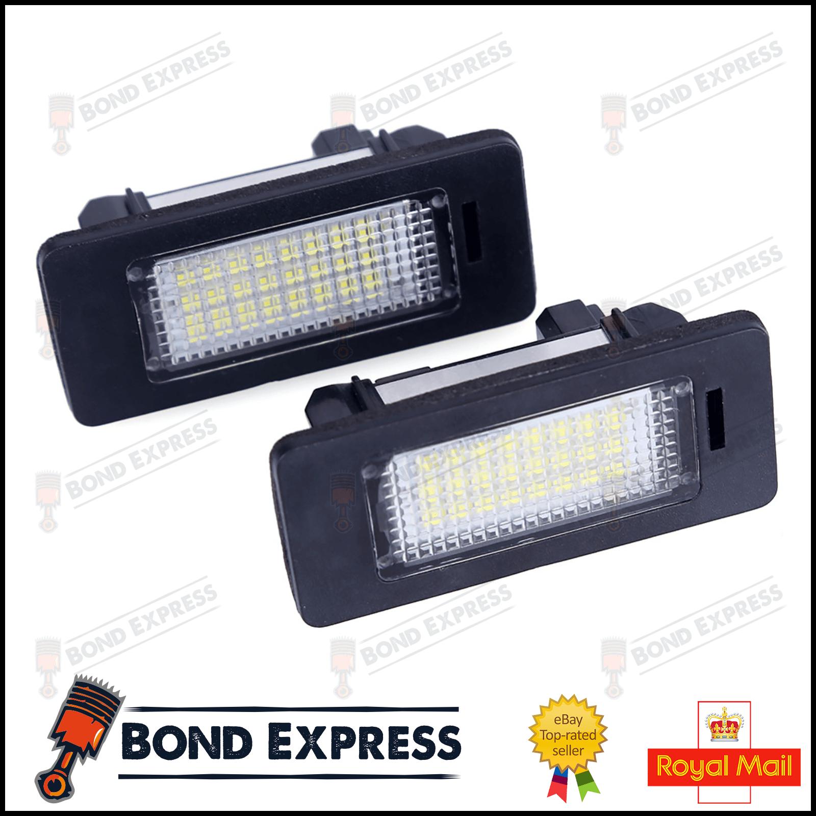 1x Fits BMW X5 E70 Bright Xenon White LED Number Plate Upgrade Light Bulb