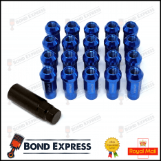Epman Racing Steel Lug Nuts – M12 x 1.25 – Blue