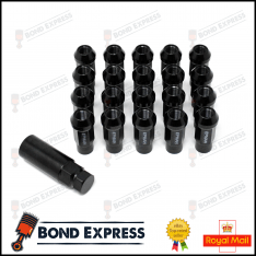 Epman Racing Steel Lug Nuts – M12 x 1.5 – Black