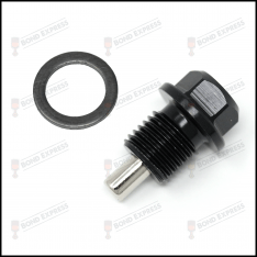 Black – Honda B20-Series Magnetic Sump Plug