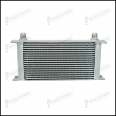 AN10 Oil Cooler Silver | 19 Row
