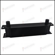 AN10 Oil Cooler Black | 10 Row