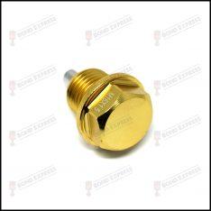 M16 x 1.5 Magnetic Sump Plug – Gold