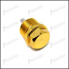 M20 x 1.5 Magnetic Sump Plug – Gold