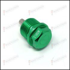 M20 x 1.5 Magnetic Sump Plug – Green