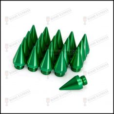 Lug Nut Spikes – 20 Pack – Green