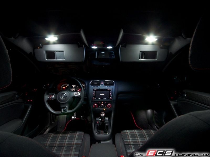 Details About Vw Golf Mk6 Gti Interior Led Upgrade Kit 12 Pieces Uk Stock Fast Delivery